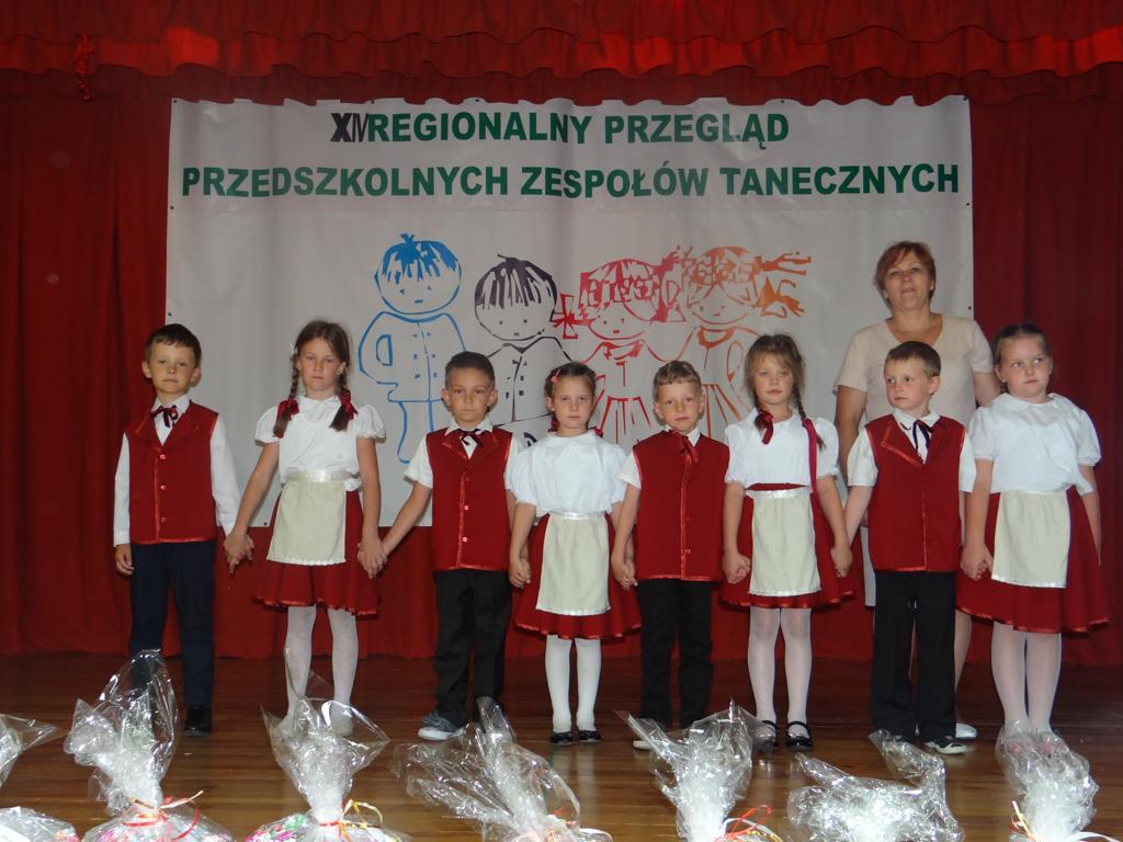 Regionalny Przegląd Przedszkolnych Zespołów Tanecznych w Suwałkach